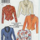 New Look 6555 Five Blouse Variations in One Pattern Size 8 10 12 14 16 18 UNCUT