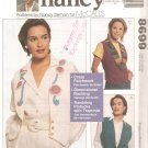 McCalls Sewing with Nancy 8699 (1997) Lined Vest Pattern Size 8 10 12 14 16 18 20 22 UNCUT