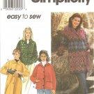 Simplicity 8299 (1998) Oversize Jacket Coat Pattern Size 18 20 22 24 UNCUT