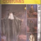 McCalls 3789 (2002) .Witch Wizard Costume Pattern Sizes 3 4 5 6 7 8 UNCUT