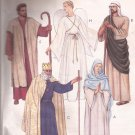 McCalls 8435 (1996) Adult Shepherd Angel Wise Man Mary Joseph Jesus King Costume Pattern Large UNCUT