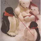 McCalls 2543 (1999) Penguins Polar Bears Two Sizes Pattern UNCUT
