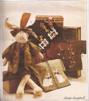 McCalls 2016 (1999) Honey Bunny with Dress Four Jackets Craft Pattern UNCUT