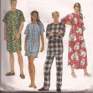 McCalls 8530 (1996) Nightshirt Nightgown Pajama Pattern Size Small Medium Large UNCUT
