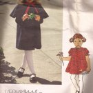 Vogue 2090 Childs Girls Dress Slip Coat Capelet Pattern Size 6X CUT