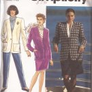 Simplicity 7489 (1991) Pants Shorts Skirt Lined Jacket Pattern Size 12 14 16 UNCUT