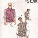 KWIK SEW 2901 Outerwear Zipper Front Lined Vest Pattern Size S M L XL XXL UNCUT