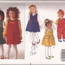 Butterick 5002 (1990) Toddler Child Jumper Dress Jumpsuit Top Pattern Size 1 2 3 PART CUT