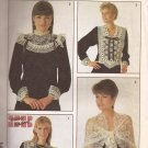 Simplicity 8884 (1988) Lace Shawl Collar French Cuffs Accessories Pattern UNCUT