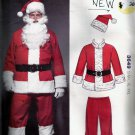 Kwik Sew 3649 Santa Costume Jacket Pants, Belt, Hat Pattern Size S M L XL XXL UNOPENED UNCUT
