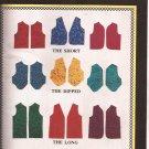 9301 (1993) Vest Short Dipped Long Neck Variations Pattern Size 8 10 12 14 16 18 20 22 24 UNCUT