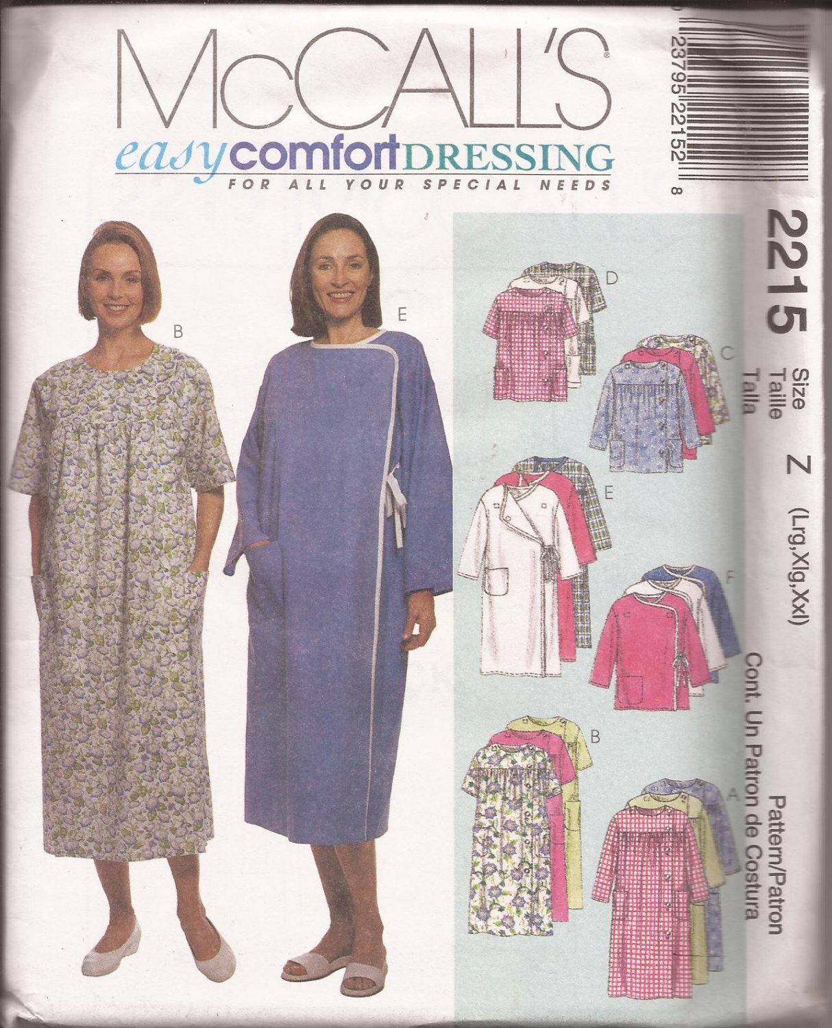hospital gown pattern mccalls | Fashion Gallery