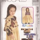 McCalls  2378 (1999) Childs Girls Dress Jackets Appliques Pattern Size 6 7 8 UNCUT