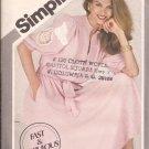 Simplicity 5317 (1981) Pullover Stand Up Collar Shoulder Tucks Dress Sash Pattern Size 6 8 10 UNCUT