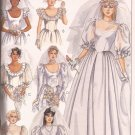 McCalls 9452 (1985) 7 Designs Bridal Bridesmaid Gown Dress Pattern Size 6 8 10 UNCUT
