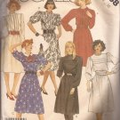 McCalls 2658 (1986) Dress Bodice Tucks Cummerbund Elastic Waist Pattern Size 10 CUT