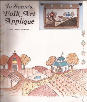 5112 (1983) Prairie Point Farm Folk Art Applique Quilt Wall Hanging Pattern