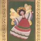 1981 Christmas Angel Wall Quilt Applique Stencil Pattern Design