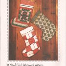 Patch Press Vintage (1978) Christmas Sock Stocking Pattern Applique Quilt Patchwork