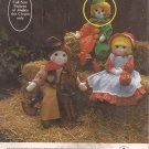 "005 (1979) Vintage Jingles Clown 36"" Doll Full Size Pattern"