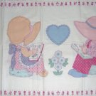 "Strawberry Shortcake Sweet Dreams Quilt Pillow Wall Hanging Panels 35""W x 25""L"