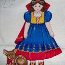 Snow White Deer Fawn Screen Print Stuff Doll Moveable Arms Legs 16-18""
