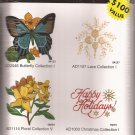 Amazing Designs Machine Embroidery Butterfly Lace Floral Christmas Collection
