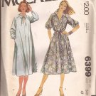 McCalls 6399 (1978) Vintage Raglan Sleeve Pullover Half Size Dress Pattern Size 24 1/2 UNCUT