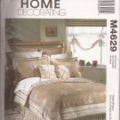 McCalls 4629 (2004) Pillow Case Sham Duvet Bedskirt Spread Window Pattern CUT