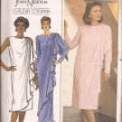 Butterick 3328) 1985 Evening Special Occassion Mother of Bride Dress Pattern Size 8 10 12 CUT