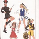 Simplicity 8786 (1988) Cheerleader Majorette Dress Vest Skirt Uniform Pattern Size 10 UNCUT