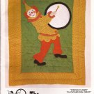 Pattern Parade Circus Clown Drum Quilt UNCUT