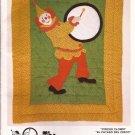 Pattern Parade Circus Clown Drum Quilt UNCUT