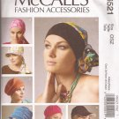 McCalls 6521 (2012) Headband Scarf Head Wrap Hat Cap Pattern  UNCUT