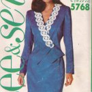 Butterick 5768 (1991) Double Breasted Top Skirt Suit Pattern Size 18 20 22 UNCUT