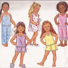 Butterick 3108 (2001) Childs Girls Top Sleep Gown Shorts Pants Pattern Size 2 3 4 5 UNCUT