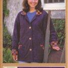 Quilted Closet Barn Blazer Jacket 109 (1997) Pattern Size 6 8 10 12 14, 16 18 20 22 24 UNCUT