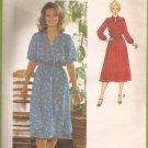 Simplicity 9062 (1979) Vintage Pullover Yoke Dress Elastic Waist Sleeve Pattern Size 14 UNCUT