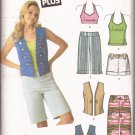 Simplicity 4200 (2006) Halter Top Pants Shorts Junior Plus Pattern 5-6 7-8 9-10 11-12 13-14 15-16
