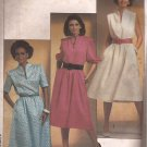 Simplicity 6789 (1985) Pullover Dress Elastic Waist Funnel Neck Pockets Pattern Size 12 CUT