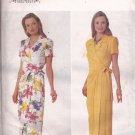 Butterick 5031 (1997) Desiginer Jessica Howard Mock Wrap Dress Pattern Size 12 14 16 UNCUT