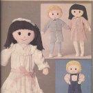 Butterick 3583 Vintage Boy Girl Doll Clothes Pattern UNCUT