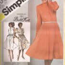 Simplicity 5487 (1982) Pullover Sleeveless Short Long Sleeve Dress Pattern Size 18 20 UNCUT