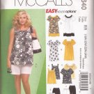 McCalls 5640 (2008) Top Dress Shorts Capri Pants Pattern Size 18W 20W 22W 24W UNCUT