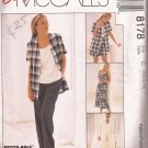 McCalls 8178 (1996) Dress Top Jacket Pants Shorts Pattern Size 10 12 14 UNCUT