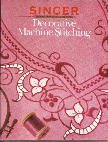 1990 Singer Decorative Machine Stitching Book