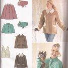 Simply 3958 (2006) Capelet Vest Coat Dog Coat Pattern M L XL UNCUT