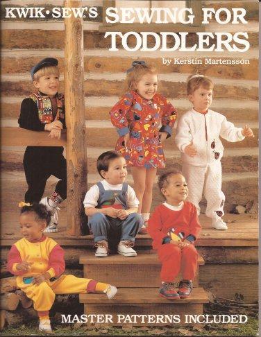 Kwik Sew Master Patterns Toddler Shirt Pants Jumpsuit Dress Skirt Size T1 T2 T3 T4 UNCUT