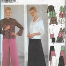Simplicity 5725 Misses Petites Evening Camisole Tops Pants Skirt Pattern Size 8 10 12 14 UNCUT