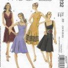 McCalls 5232 (2006) Laura Ashley Misses Petite Lined Dress Pattern Size 16 18 20 22 UNCUT